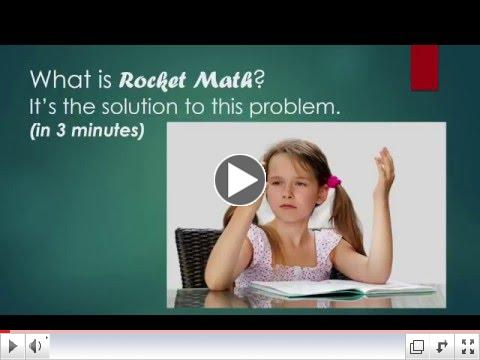 What is Rocket Math?