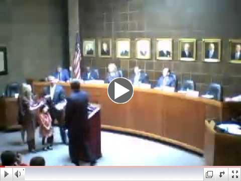 11-05-2012 City Council Organizational Meeting