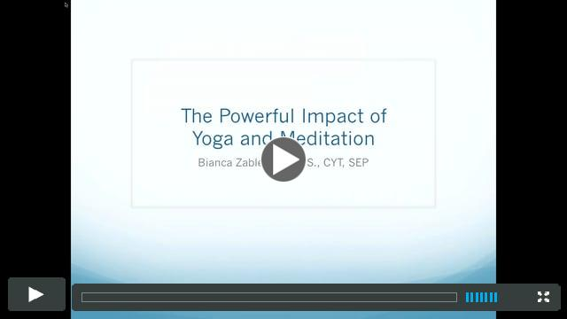 The Powerful Impact of Yoga and Meditation