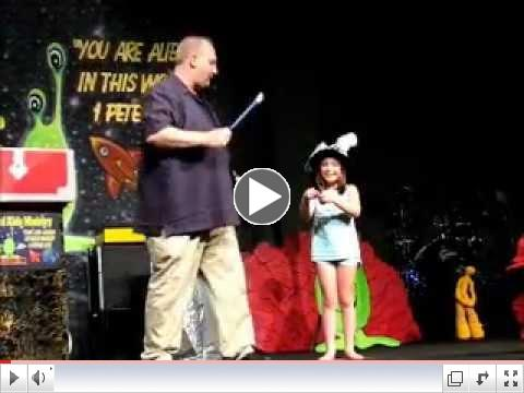 Alien Kids - Wands, blooming flowers & crazy kids with Earl Long of Vertical Kids Ministry part 1
