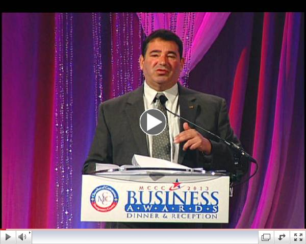 Small Business Leader of the Year Award - Gerald Shapiro, President, Shapiro & Duncan, Inc.