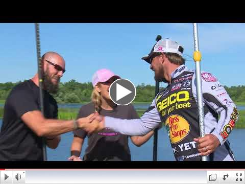 Paddle Boarding with Major League Fishing