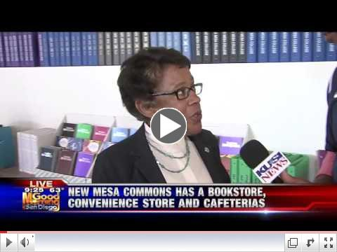 Mesa College Opens New Commons Building
