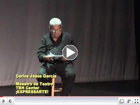 EXPRESSARTE con el Maestro Carlos Jesús García