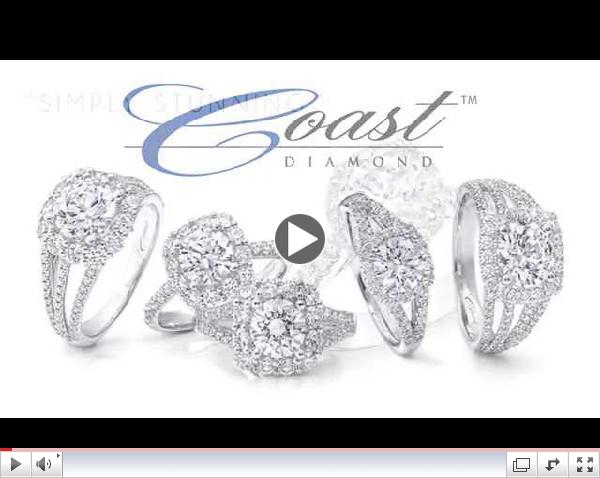 Coast Diamond: Gorgeous and Romantic Engagement Rings