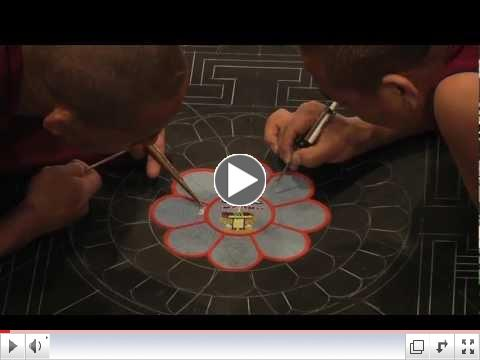 Mystical Arts: Tibetan Monks create sand mandala