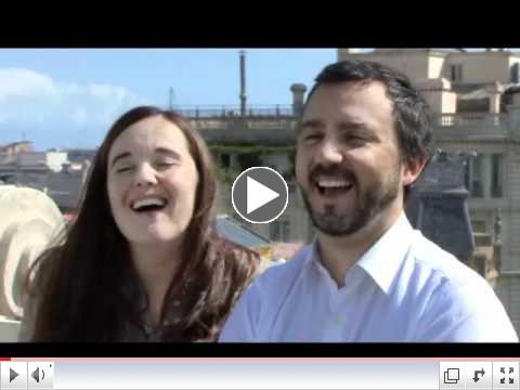 Fernando De La Rosa y Carolina Vicente: puro amor