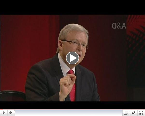 Kevin Rudd launches passionate gay marriage defence
