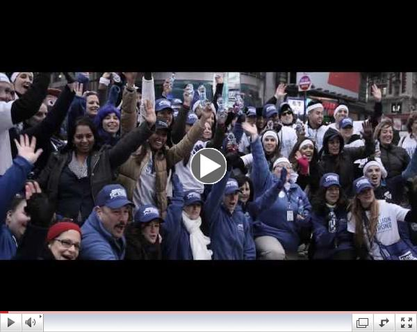 Behind the Scenes:  NYC Gets Behind One Million Strong