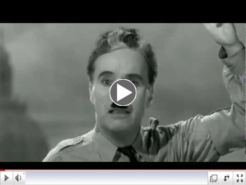 The Great Dictator Final Speech