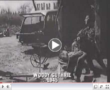 Woody Guthrie - 1945