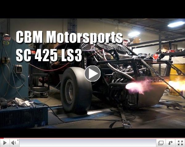 CBM Motorsports Supercharged 425 LS3 Buckshot Sand Car