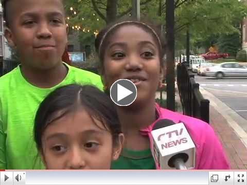 Children's Mental Health Matters Flash Mob
