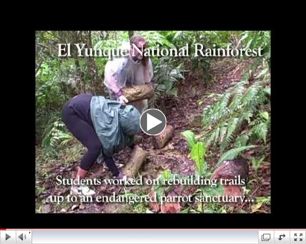 Bonner Leaders Serve During Alternative Winter Break in Peru and Puerto Rico