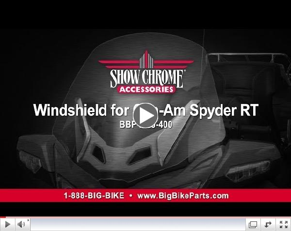 Replacement Windshield for Can-Am Spyder RT