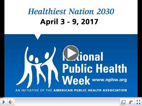 ODHDSP Region 8 Update & Tribute to National Public Health Week