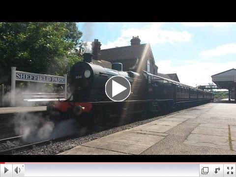 Southern Railway Q class 30541 Bluebell Railway, by