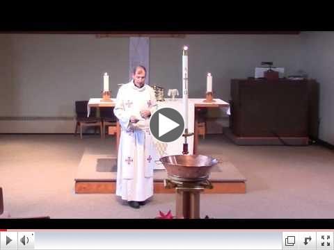 Pr. Steve's Sermon: Baptized into Identity