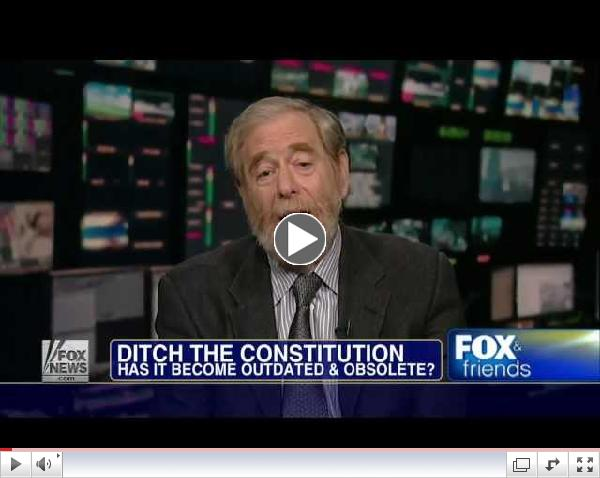 America : Georgetown Univ Professor says it's Time To Ditch The Constitution (Jan 07, 2012)