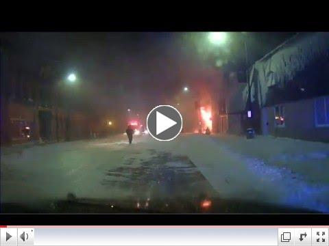 Madelia Main Street Fire