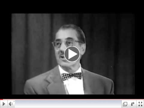 Dr. Sammy Lee You Bet Your Life with Groucho Marx 1956