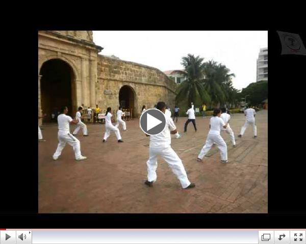 Dia internacional del Tai-Chi Cartagena.Colombia