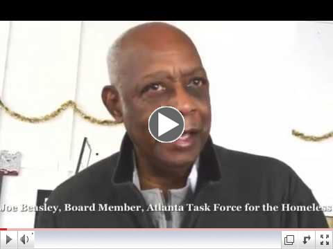 Joe Beasley, Board member Atlanta Taskforce for the Homeless