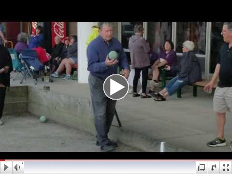Video taken from Bocce League - June 26, 2017