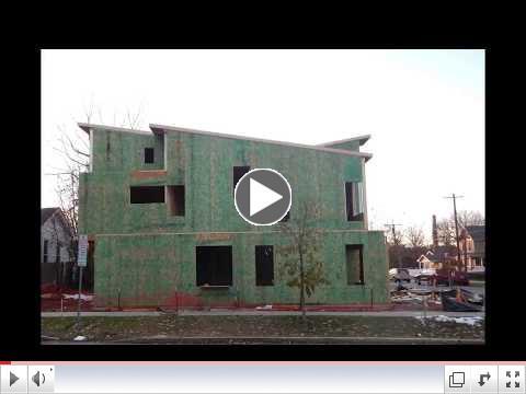 Construction is underway on Otisco Street: Resilient Corners Project
