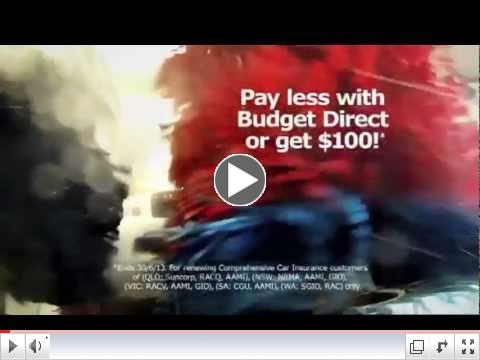 Budget Direct Car Insurance - No Bulldust