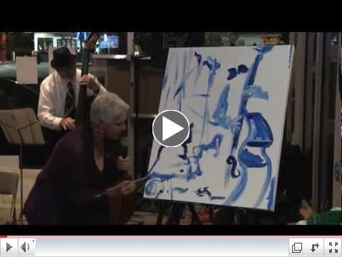 Kat Walker- The Painting Singer- LadyFest New Orleans