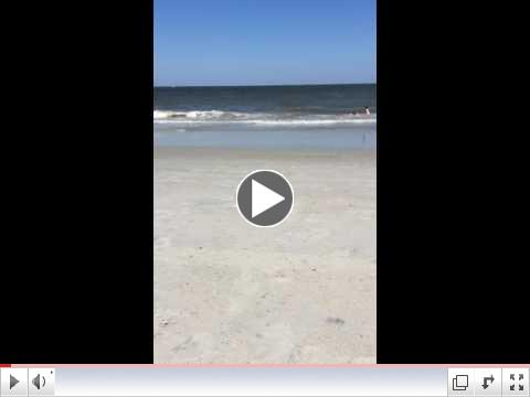 35 seconds at the beach ...