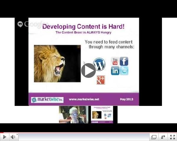 Content is Now Queen in SEO with Kathryn McGeehan, CEO of Market Wise