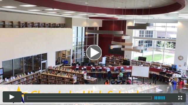 Rethinking Lunch and the Library at Clear Lake High School