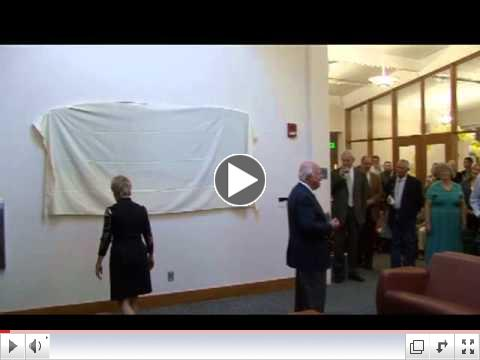 Fort Lewis Foundation Donor Recognition Wall