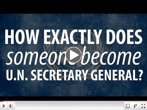 Choosing the next UN secretary-general/ Devex