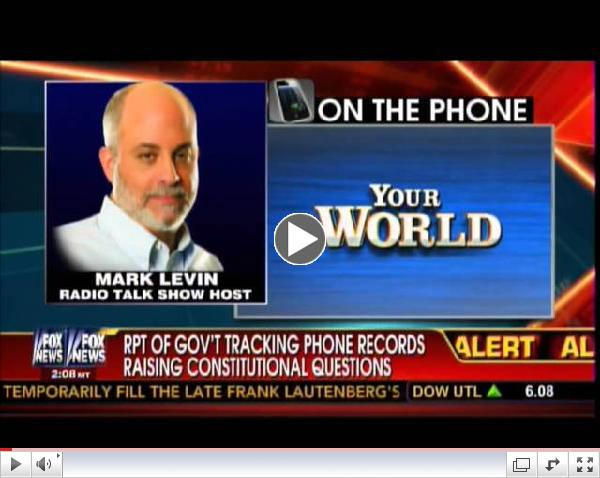 Mark Levin: 'We have the elements of a Police State here'