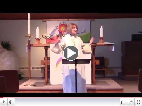 Pr. Christine's Sermon: Escaping Heaven