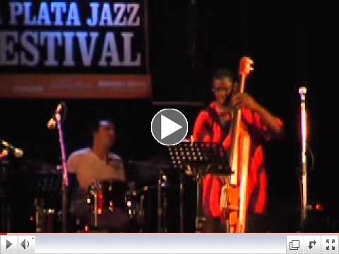 Dan Balmer at La Plata Jazz Festival