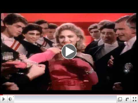 Madonna - Material Girl - Official  Music Video HD