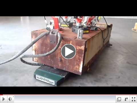 Hilman Traksporter - Moving Heavy loads by Remote Control