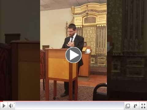 Rabbi Sutofsky third installment of parenting with a plan,
