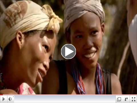 Bushmen Click Language in Namibia
