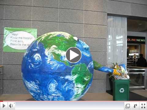 Recycling Globe