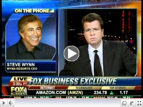 Neil Cavuto interviews Steve Wynn 10-21-11, part 2