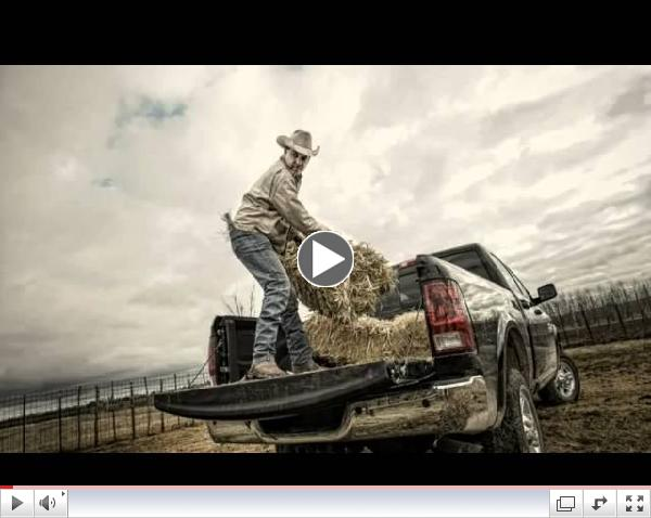 Dodge Ram Trucks Super Bowl Commercial Farmer - God Made A Farmer 2013