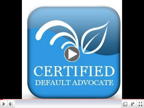 Certified Default Advocacy Training | Homeowner Conversion | Q&A