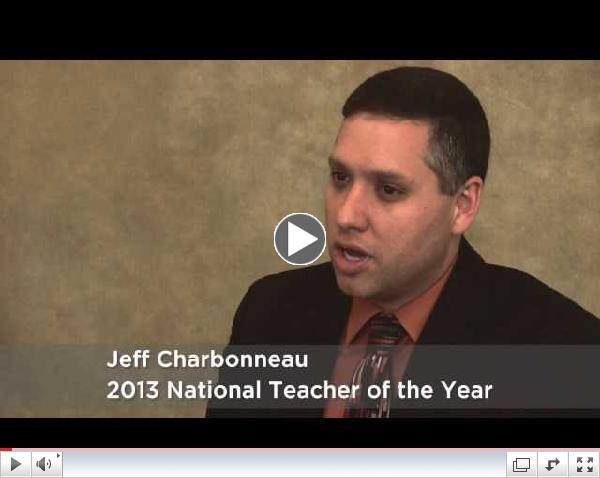 Next Generation Science Standards: 2013 National Teacher of the Year Jeff Charbonneau