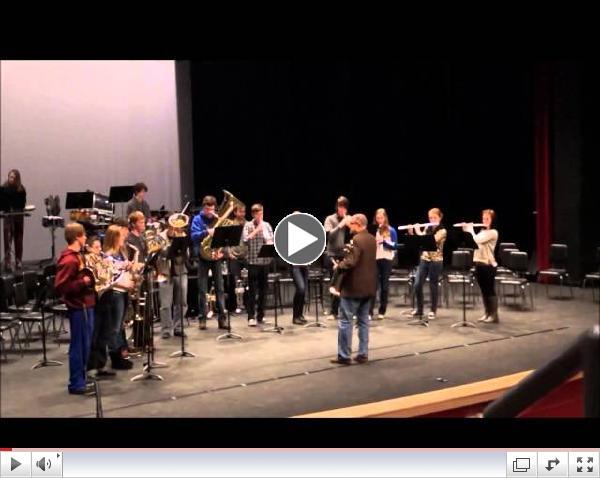 Dallas Brass visit WMHS