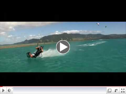 Kiteboarding compilation of the best moves in kiteboarding